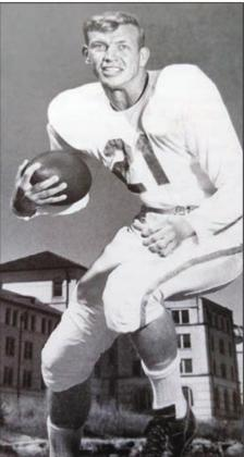 Jones was named the SWC's Most Valuable Player in 1952, when he quarterbacked the Horns to a 9-2 season, a conference title and Top 10 ranking. He helped Texas cap that year with a 16-0 victory over No. 8 Tennessee in the Cotton Bowl. In two seasons as UT's starting quarterback, he was 14-3. Contributed