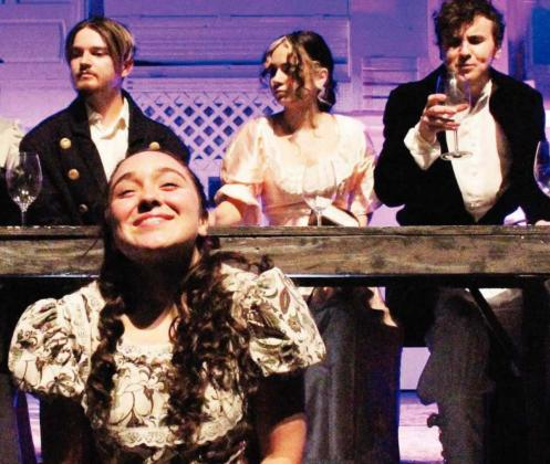 The Marble Falls High School Theatre performed Jane Austen's Sense and Sensibility on Thursday, Oct. 28, Saturday, Oct. 31 and Sunday, Nov. 1.Alt Text for Image
