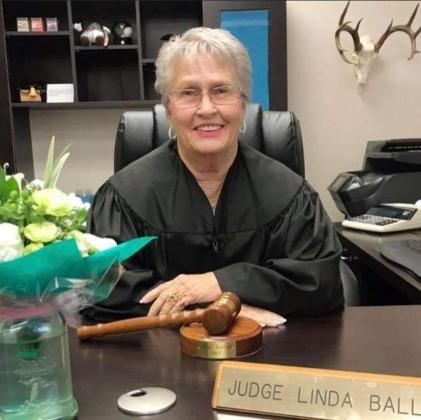 Former Llano County Justice of the Peace Linda Ballard died on July 4 in her home. Contributed