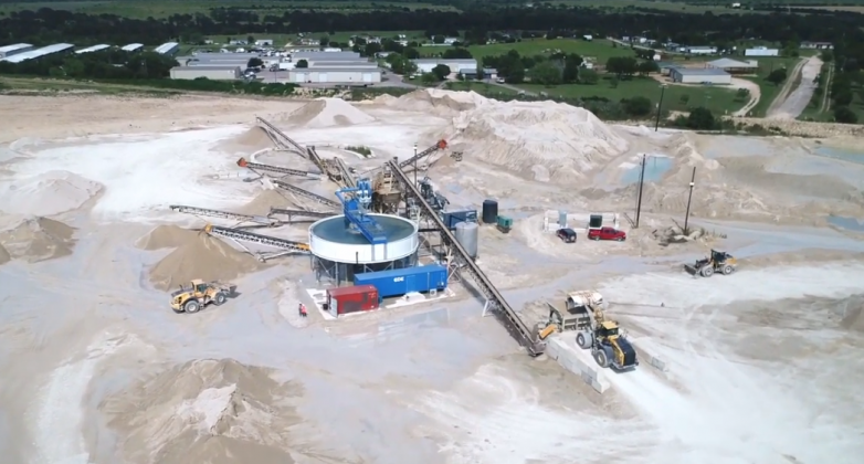 The tours of the Collier Materials sand plant in Williamson County are set for Thursday, July 16; each tour will be limited because visitors must wear hard hats. Contributed