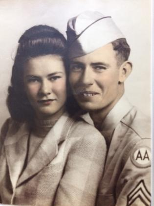 A 1940s-era photo of a happy couple and a 1972 wedding invitation for Beverly Anne Pirtle to Randy Alan Nickerson are among the items contained within a scrapbook found by Phil Parisi, a Logan, Utah, resident who formerly lived in Austin. Contributed