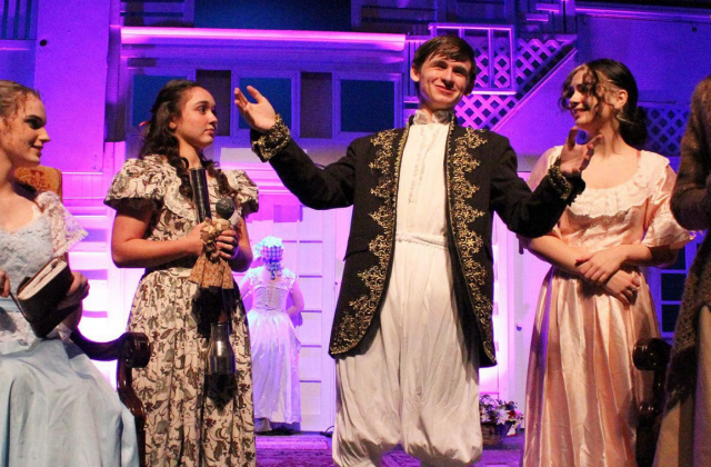 The Marble Falls High School Theatre performed Jane Austen's Sense and Sensibility on Thursday, Oct. 28, Saturday, Oct. 31 and Sunday, Nov. 1.