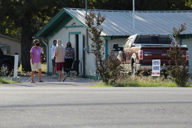 One of the polling place for Burnet County voters was the Granite Shoals Community Center. File Photo