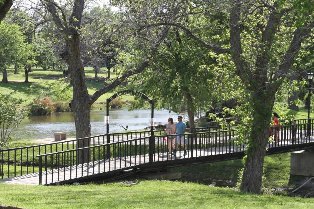 Upgrades to Johnson Park is among examples of the city of Marble Falls receiving Scenic City Certification. File photo