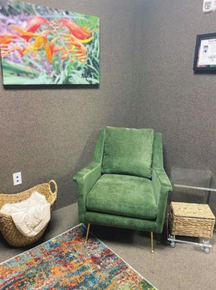 Interview rooms are designed to enhance the comfort level of victims of abuse; the rooms were unveiled by Marble Falls Police Department after a partnership with a nonprofit group. Contributed