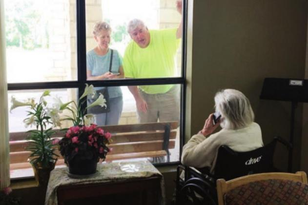 Gov. Greg Abbott will allow for expanded visitation at nursing homes - such as Granite Mesa here in Marble Falls - and assisted living facilities on Thursday, Sept. 24, provided certain criteria are met to prevent the spread of COVID-19. File photo