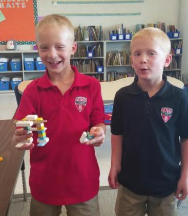 Faith Academy of Marble Falls kindergarten, first and second graders participated in a Lego Robot Class on Friday, Sept. 4. They had fun and created some awesome robots to share with their classmates. Contributed photos