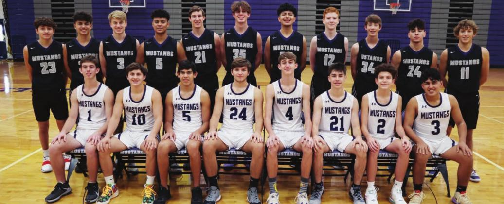 The 2020-21 Marble Falls Mustangs boys basketball team will feature a cast of new faces to accompany returning leaders. The team lost a host of senior leadership last year but aims to compete in a tough district with grit and youthful energy. Contributed/MFISD