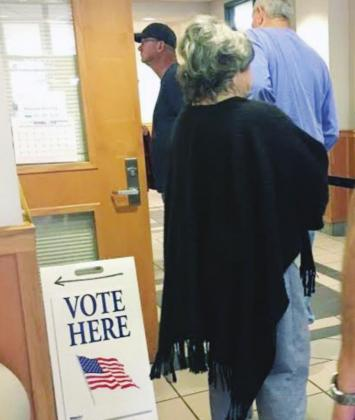 Burnet County officials are in the midst of training individuals to work at the polls during early voting and on election day. File photo