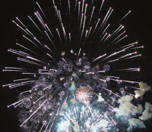 Highland Lakes residents and visitors have several options for enjoying fireworks this Fourth of July. File photo